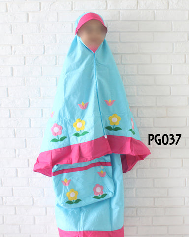 Kids Prayer Garment #037 - embroidered design (1-8y)