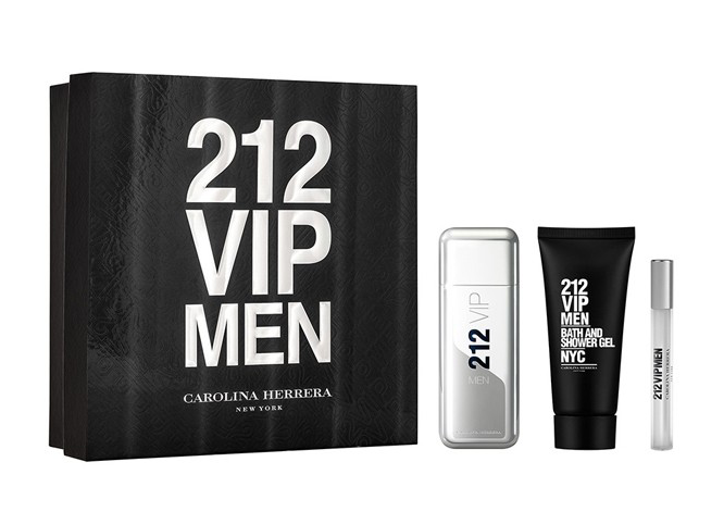 Set 212 Vip Carolina Herrera (3 pcs)