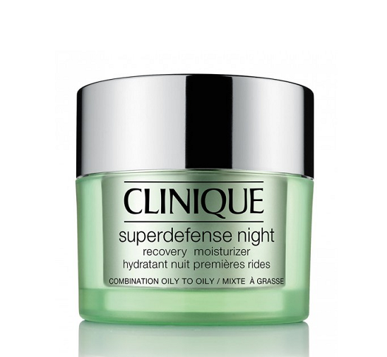 Superdefense Night Recovery Moisturizer Combination to Oily Skin