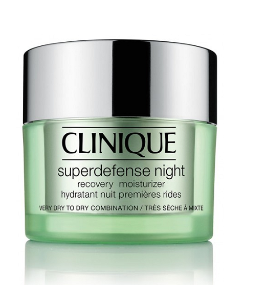 Superdefense Night Recovery Moisturizer Very Dry to Dry Combination Skin