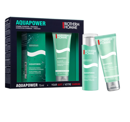 Men Set Aquapower Dynamic Hydration Freshness  2pcs
