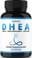 DHEA Extra Strength Designed for Healthy Weight Loss, Youthful Energy Levels, and Promoting Balanced Hormone Levels as Metabolism Support; NON-GMO; 50 mg Supplement for Men & Women
