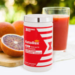 Bruno MD Ketorex Exogenous Ketone BHB Salts + MCT Powder, Clinically-Proven Phytosome Complex - Delicious, Blood Orange Blend for Paleo, Dieting, Weight Loss - Keto Salt Diet Supplement for Athletes