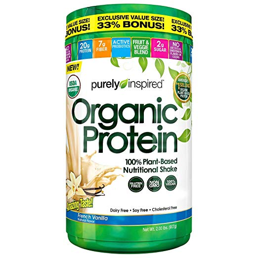 Purely Inspired Organic Protein Plant-Based Nutritional Shake, 2 Pound