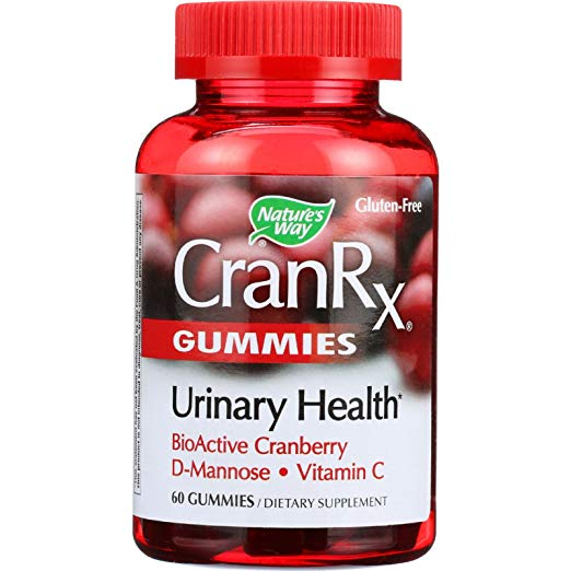 2Pack! Natures Way Cran Rx - Urinary Health - 60 Gummies
