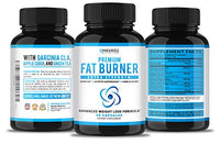 Extra Strength Weight Loss Pills and Keto Appetite Suppressant - CLA, Green Tea Extract, Apple Cider Vinegar, Coral Calcium, White Kidney Beans - Fat Burner & Metabolism Boost