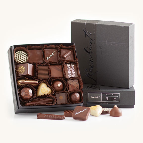 Recchiuti Black Box - Wirecutter gift pick best chocolate box
