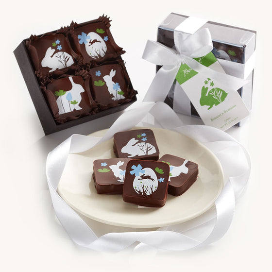 Recchiuti Easter - Bunnies and Blossoms Truffles