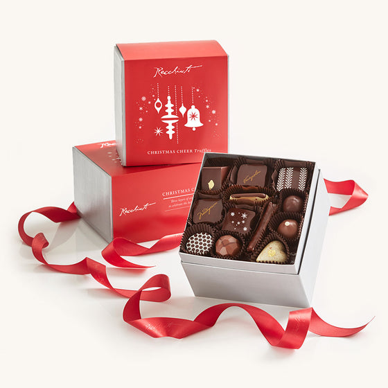 Recchiuti Christmas Cheer Chocolate Box