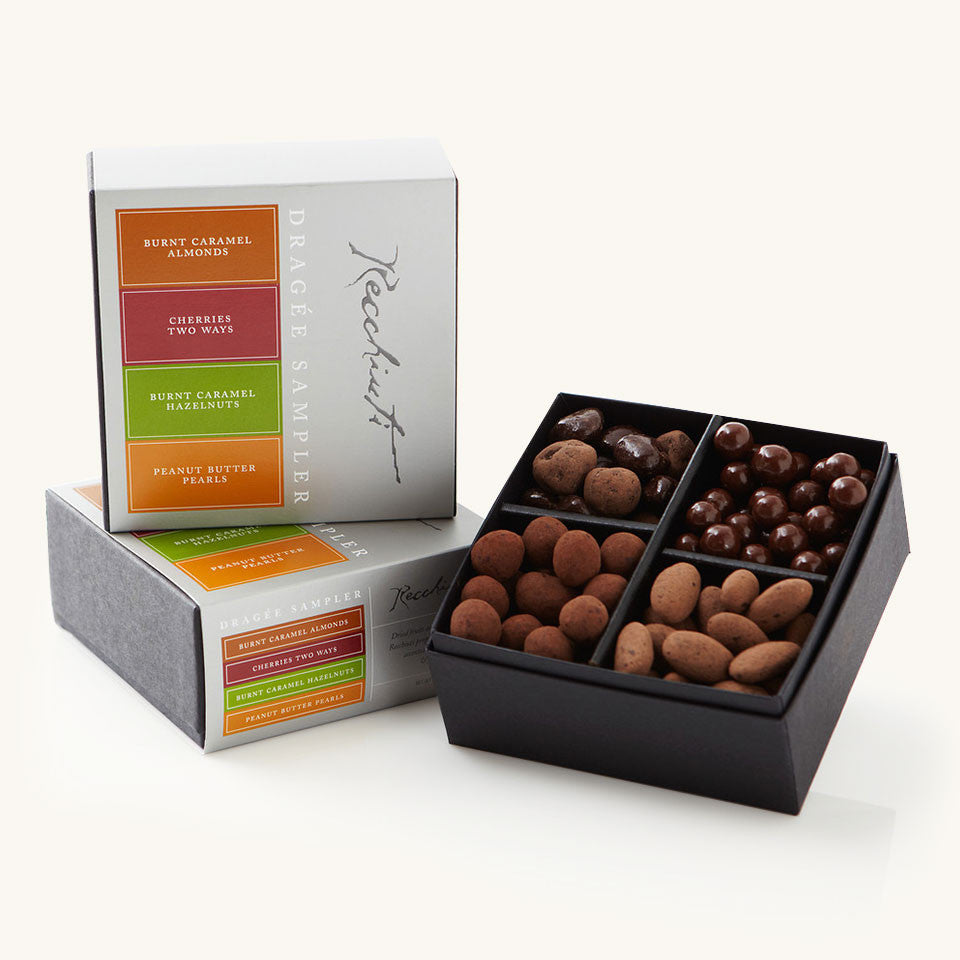 Recchiuti Confections Chocolate Covered Nuts Dragee Sampler