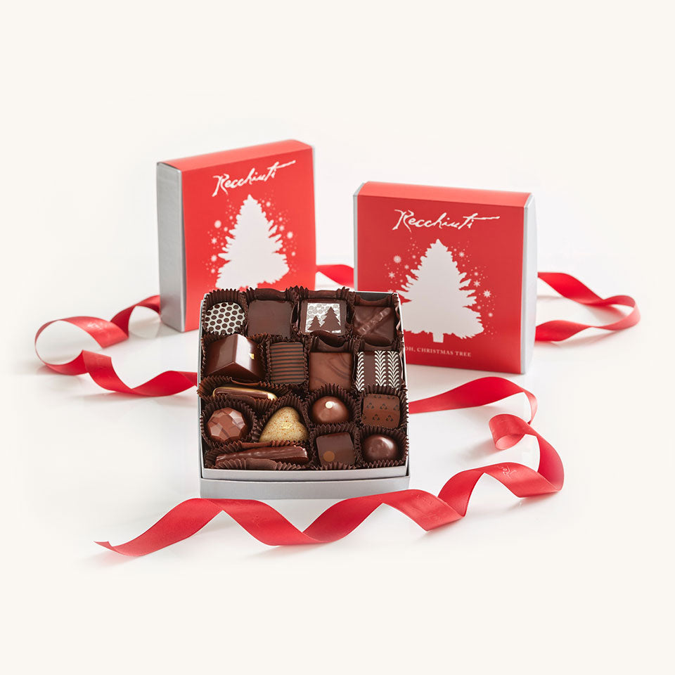 Oh, Christmas Tree Truffles