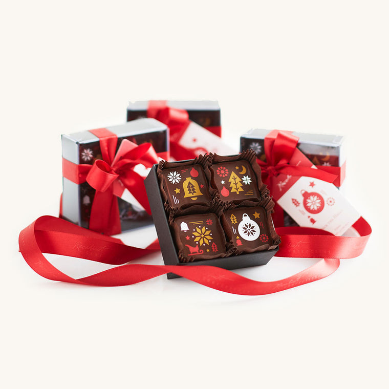 Recchiuti Deck the Halls Holiday Christmas Truffles