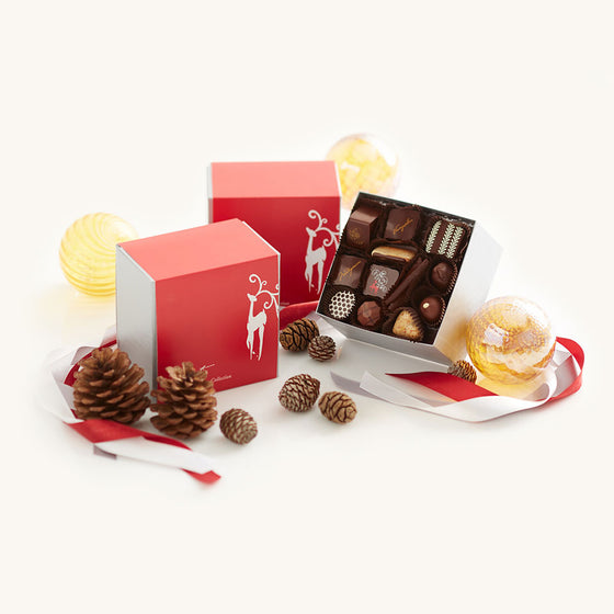 Recchiuti Confections Chocolate Christmas Truffle Collection