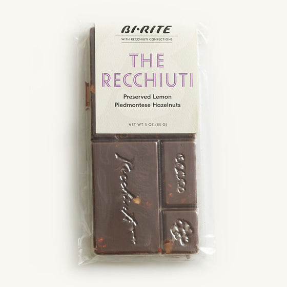 Recchiuti Chocolate Bars - The Recchiuti Bar