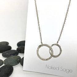 Silver/Gold Connect Necklace