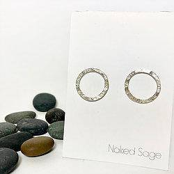 New Moon Earrings by Naked Sage