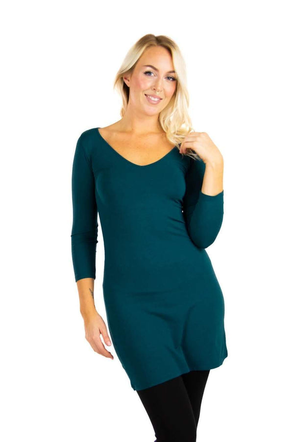 Vira 3/4 Sleeve Dress