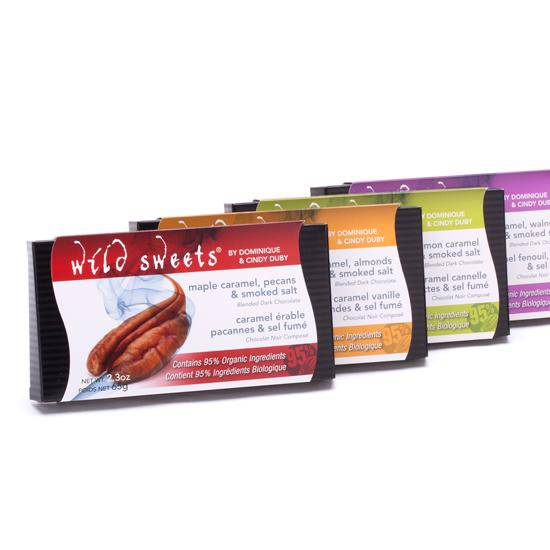 Wild Sweets Artisinal Chocolate Bars - West Coast Mamas