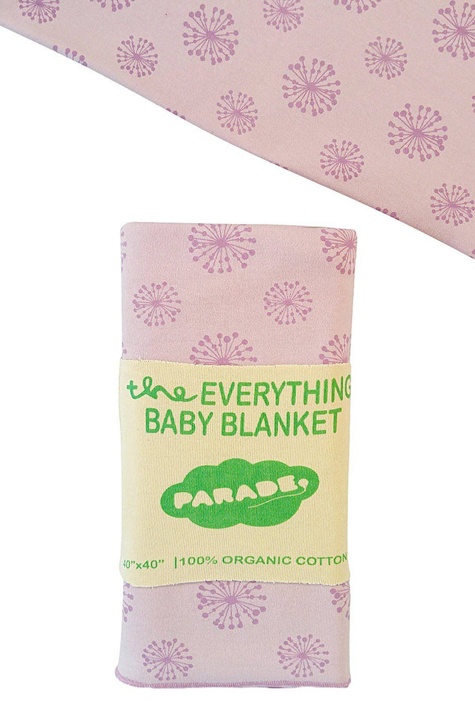 "Certified Organic  ""Everything"" Baby Blanket"