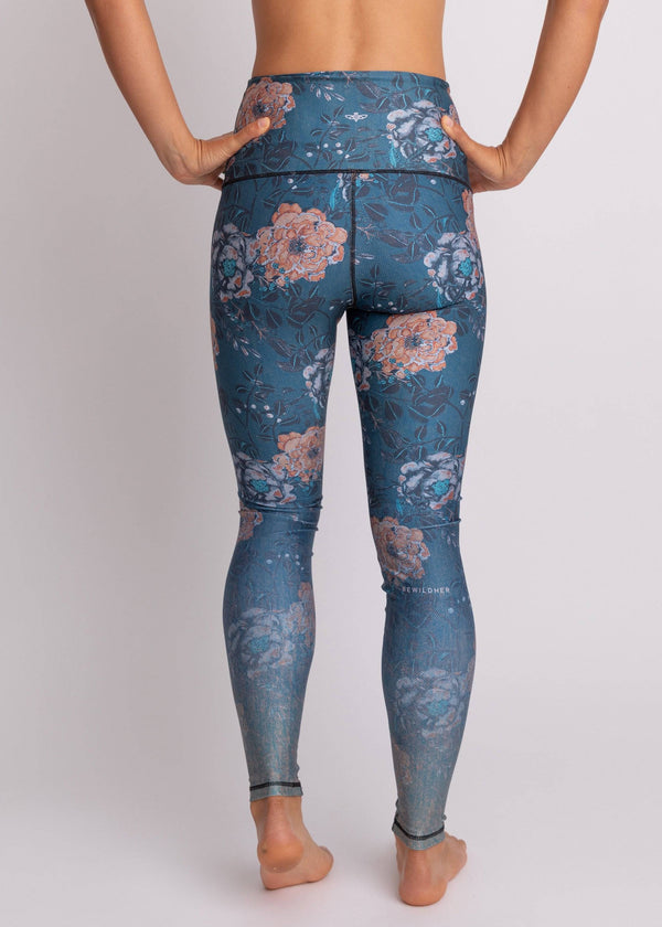 The Fall Floral Leggings