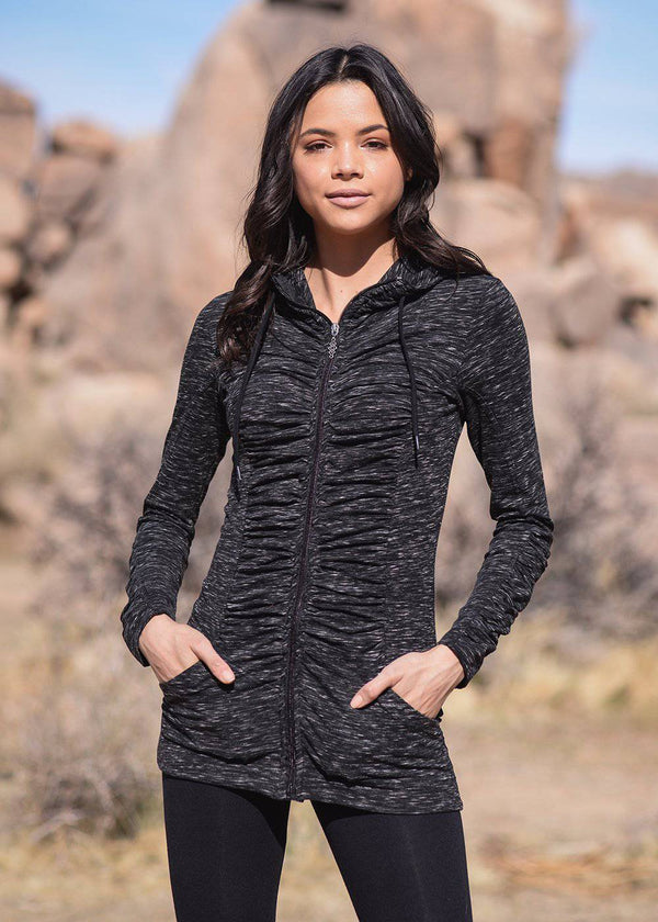Thrive Tunic Hoodie - West Coast Mamas