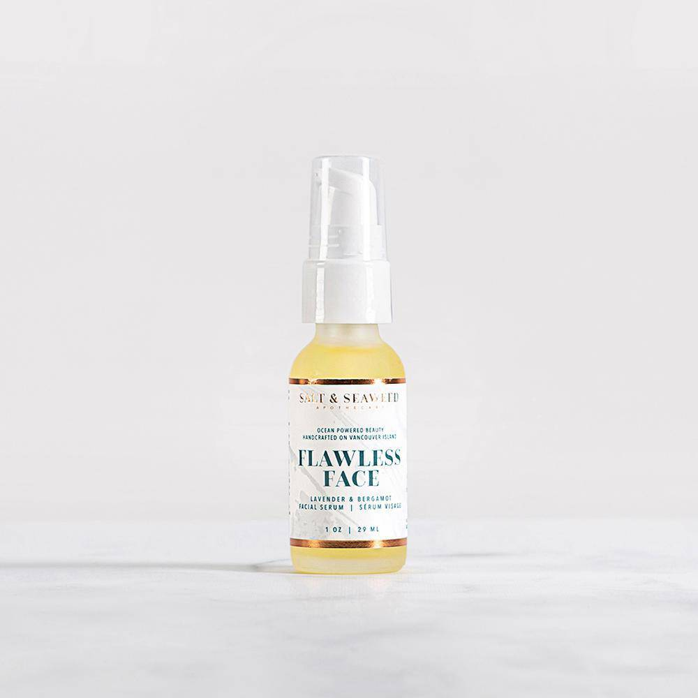 Flawless Face Serum - lavender + bergamot