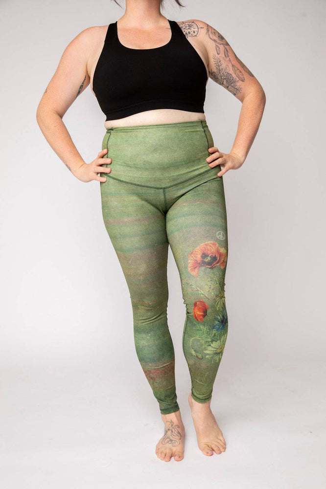 "BeWildHer Athletic Tights - ""The Peacekeeper"" Run-wild Tights - pre-order by Sept 30th"