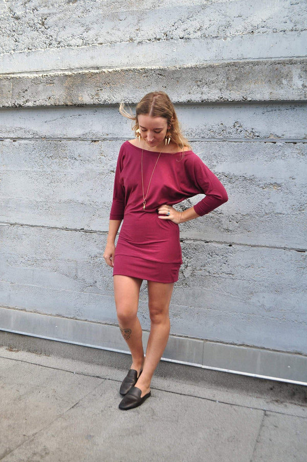 Bamboo Dolman Dress