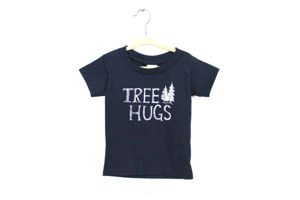 TREE HUGS Kids Tshirt - West Coast Mamas