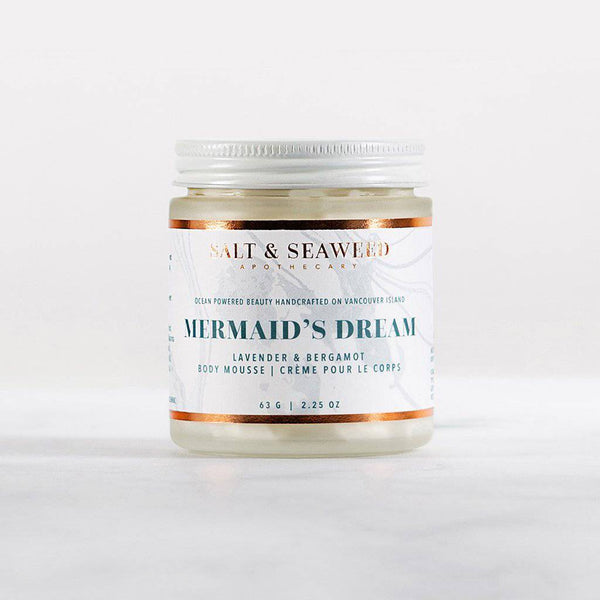 Mermaid's Dream Body Mousse - Salt & Seaweed Apothecary