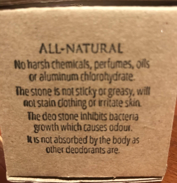 Himalayan Rock Salt Deodorant Stone - West Coast Mamas