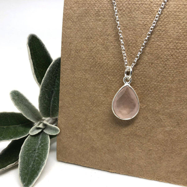 Silver Rain Necklace by Naked Sage