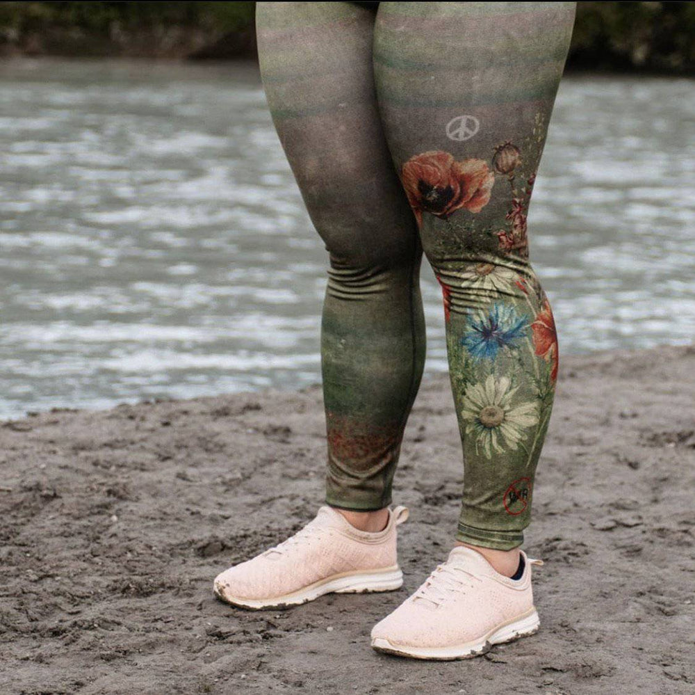 "BeWildHer Athletic Tights - ""The Peacekeeper"" Run-wild Tights - ARRIVES  APPROX OCT 30"