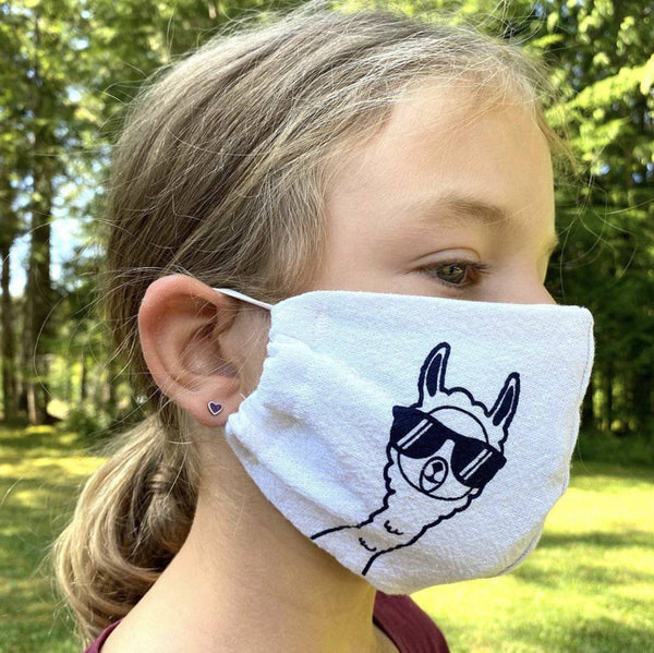 Certified Organic Face Mask - Kids - West Coast Mamas