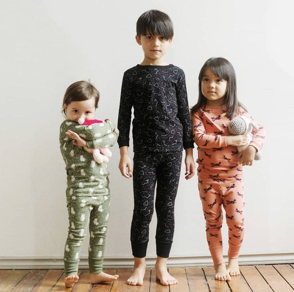 Certified Organic Kids Pajamas
