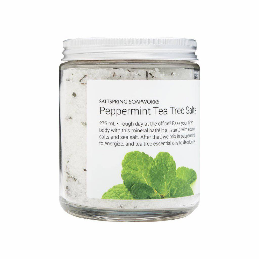 Peppermint Tea Tree Bath Salts
