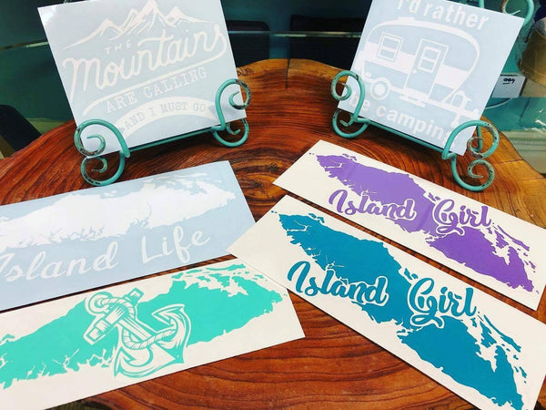 Weatherproof Car Decals - West Coast Mamas