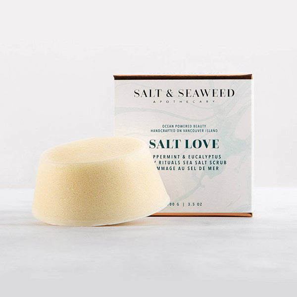 Salt Love Sea Salt Scrub Bar - West Coast Mamas