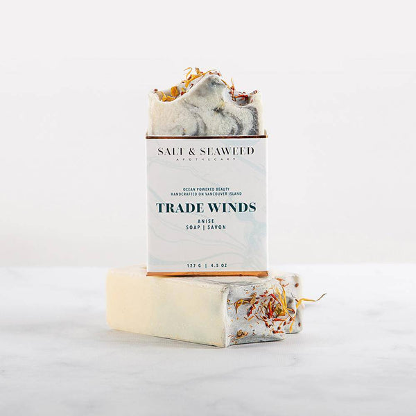 Trade Winds Soap - Salt & Seaweed Apothecary - West Coast Mamas