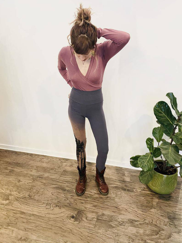 Treeline Bamboo Jersey Leggings - West Coast Mamas