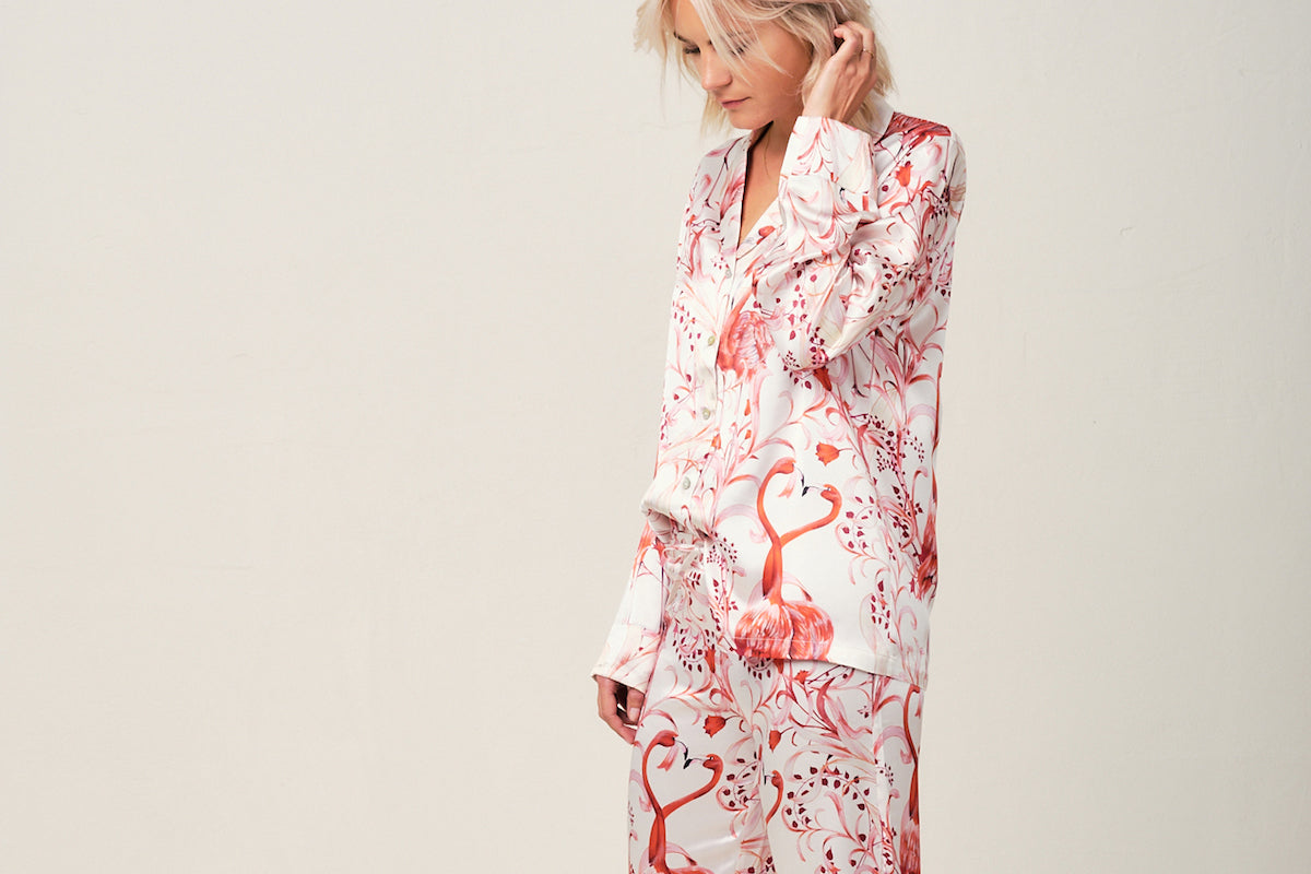 Silk Luxury Pyjamas - RADICE Designer Nightwear