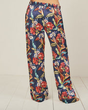 Elisabetha Urban Jungle - Bottom Loungewear, Pyjama, Silk, Seide, Schlafanzug | RADICE