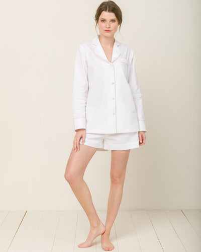 Sophia in Moonlight White - Short