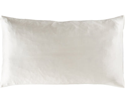 Silk Pillow Case in Moonlight White (80x40cm, 80x80cm)