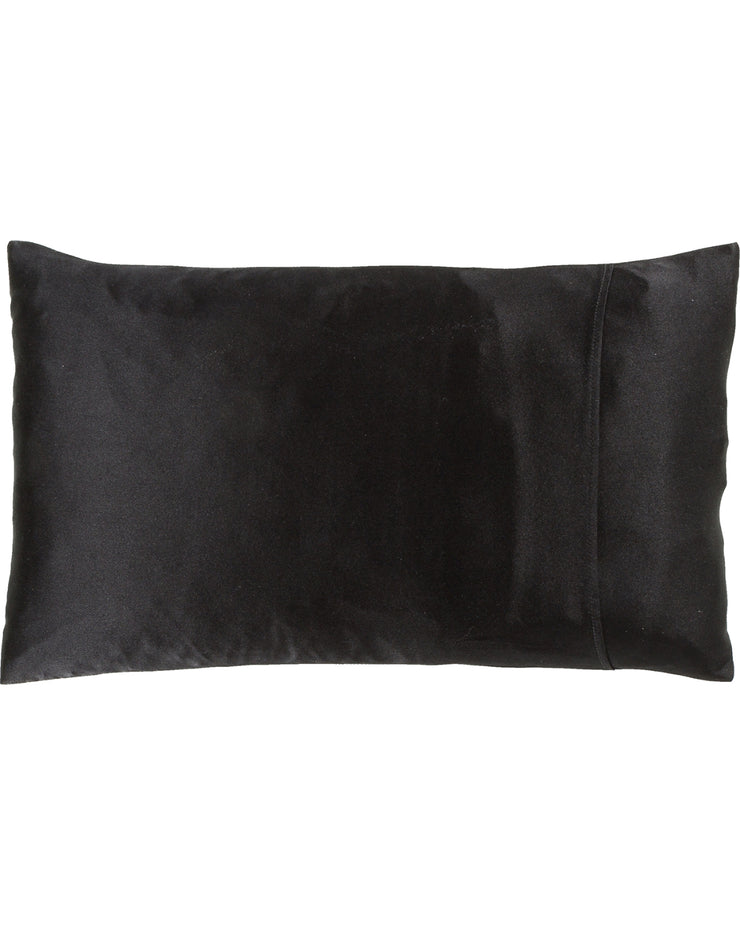 Jana Set - Silk Pillow Case & Eye Mask in Midnight Black Loungewear, Pyjama, Seidenpyjama, Schlafanzug | RADICE