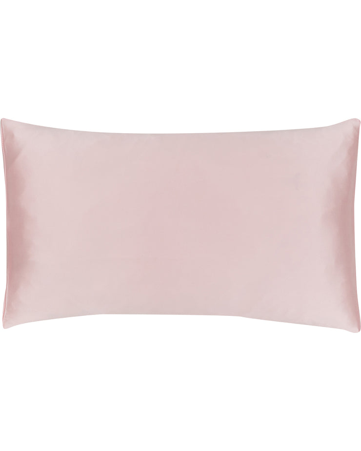 Jana Set - Silk Pillow Case & Eye Mask in Rosé Champagne Loungewear, Pyjama, Seidenpyjama, Schlafanzug | RADICE