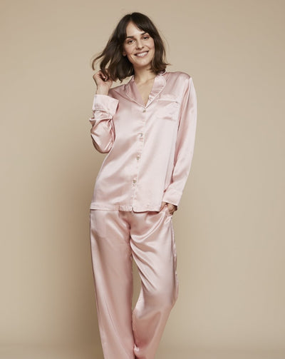 Elisabetha in Piccadilly Circus - Loungewear Top, Pyjama, Silk Pyjama, Nightwear | RADICE