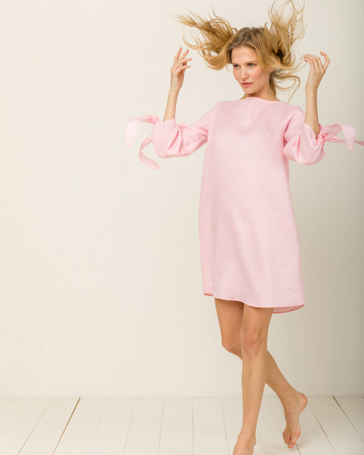 Mia Nightdress in Candy Rosé