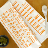 Judd Mat Gaardebounen Tea Towel in English