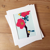 Quince Flower A5 Print
